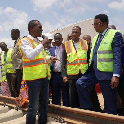 Prime Minister of the United Republic of Tanzania Visited the Ilala and Soga Construction Sites
